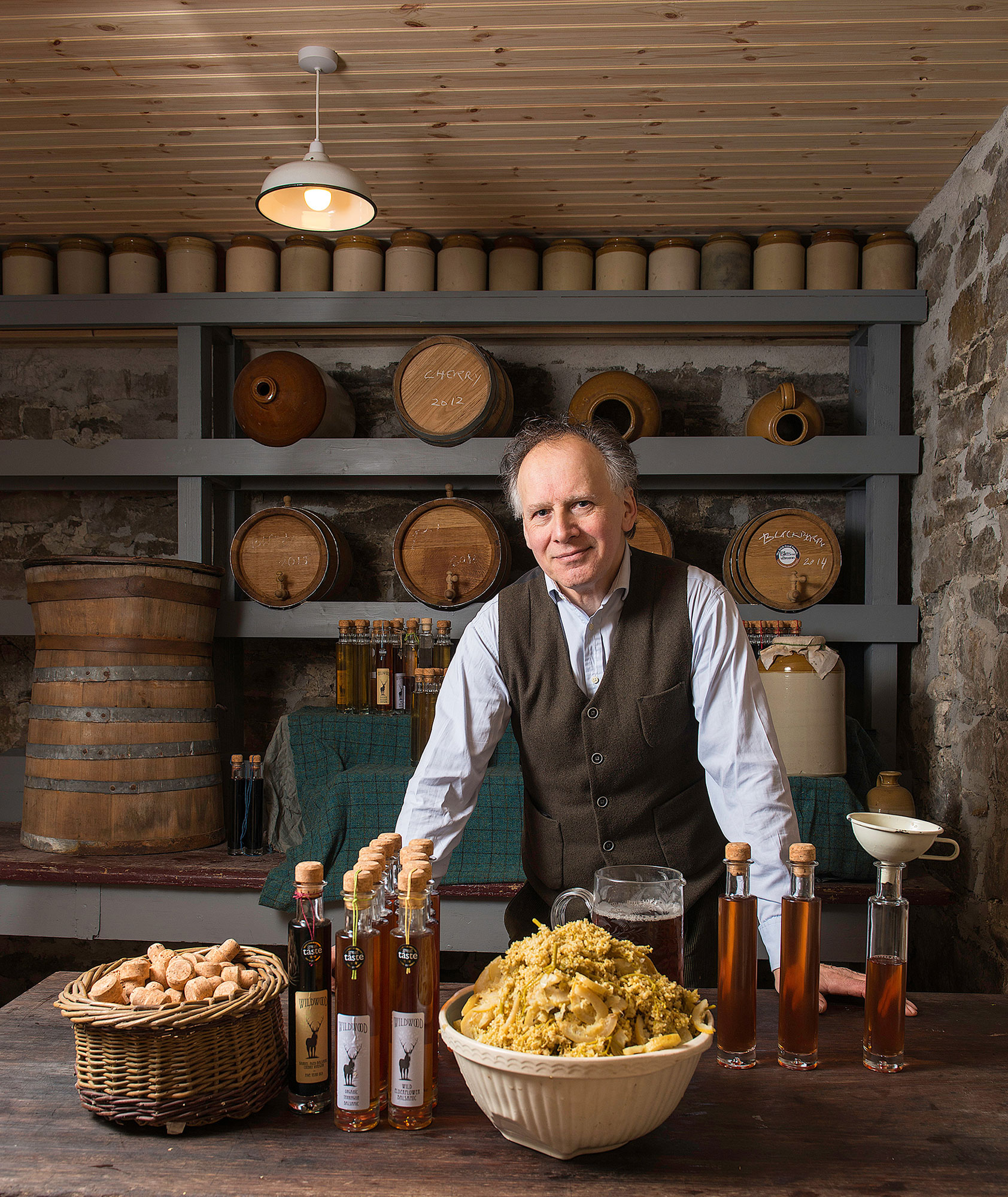 Fionntan Gogarty of Wildwood Vinegars